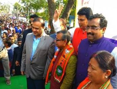 Another Congress MLA, others join BJP in Tripura