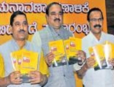 BJP manifesto promises to take NDA schemes to grassroots