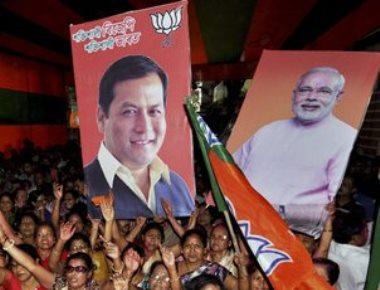 BJP scripts history in Assam; Left wins Kerala; Jaya, Mamata retain power