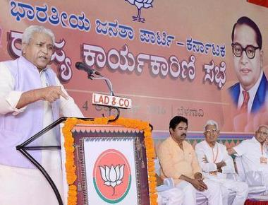 BJP holds Congress govt. responsible for imbroglio in Cauvery, Mahadayi issues