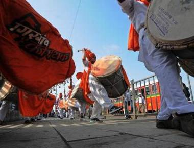 BJP goes to town with Maharashtra Day celebrations