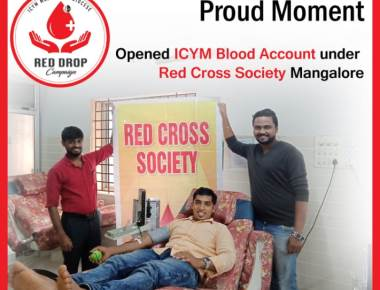 ICYM Central Council, Mangalore Diocese opens it's 4th ICYM Blood Account under Red Cross Society, Mangaluru