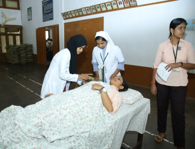 Blood donation camp held at St Agnes College