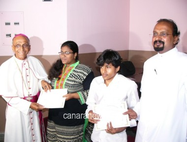 Felicitation of meritorious students & Archbishop's Installation Day 2016