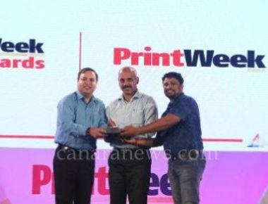 Brilliant Printers wins top PrintWeek India Award