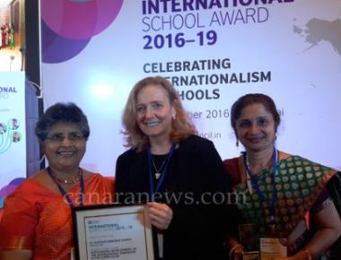 British Council confers International School Award on St Aloysius Gonzaga School