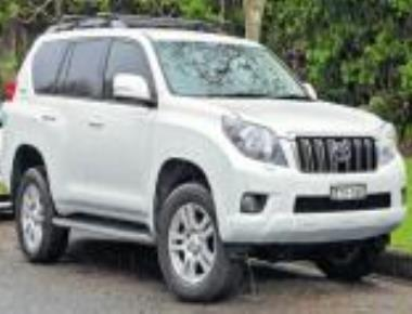 BSY to cruise around in luxury Toyota Prado