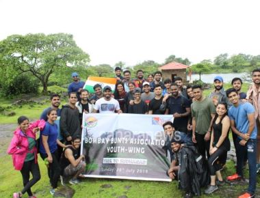 Bombay Bunts Association Youthwing - One Day Trek to Sudhagad Trek