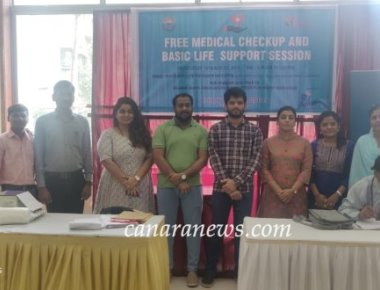 Bombay Bunts Association Youth Wing had Organized A Free Medical Checkup Camp
