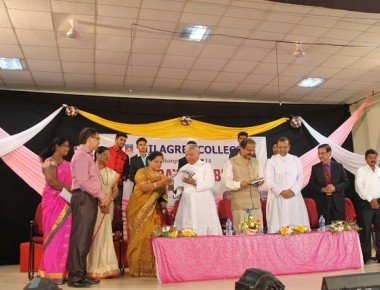 College Students should improve their Research Mentality - Prof. K. Byrappa, Vice Chancellor of Mangalore University