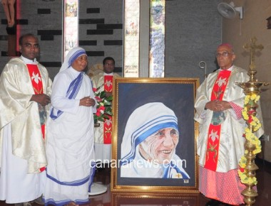 Sainthood commemorations of Mother Theresa of Kolkata By Archbishop