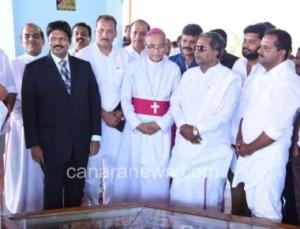 Mangaluru  24, April: Karnataka CM Shri H. Siddharamayya Today visited St. Joseph Vas Shrine, Mudipu.