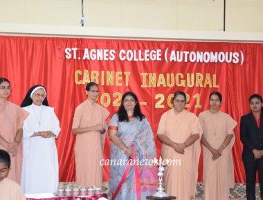 St Agnes College (Autonomus) Mangaluru Cabinet Inaugural - 2020 - 2021