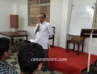 Catholic Action League (C.A.L), Bendur organises a talk on FRIENDSHIP