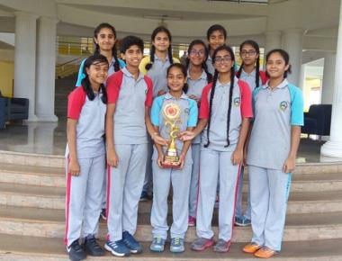 Cambridge School wins laurels in Basketball league, knockout tourname