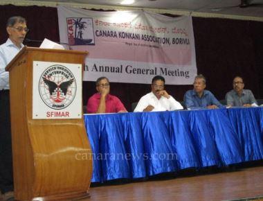 Canara Konkanu Association Borivli held its 9th Annual General Body meeting