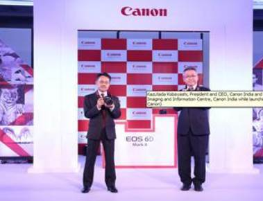 Canon launches 'EOS 6D Mark II DSLR' camera in India