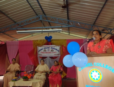 Carmel College Modankap celebrates Fresher's Day