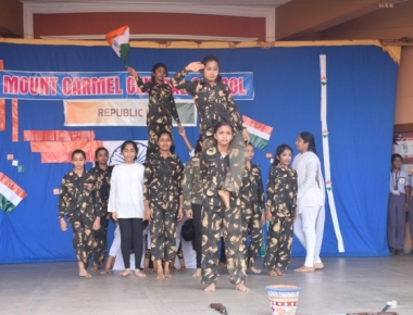 69th Republic Day celebrated at Mount Carmel School