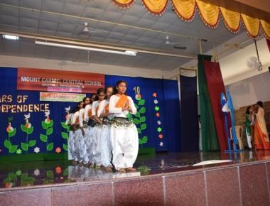 Mount Carmel Central School celebrates patriotic I-Day