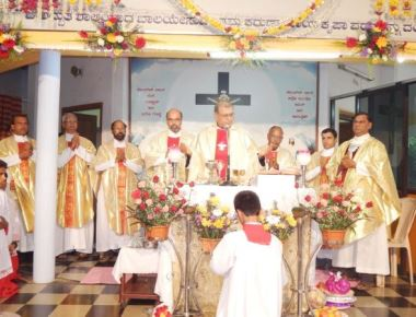 Our Lady of Mount Carmel Feast was celebrated at Carmel shrine, Katkare