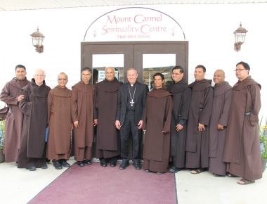 Carmelites opened Mount Carmel Spirituality Centre in Edmonton, Alberta, Canada