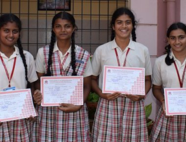 Carmel School students excel in CBSE cluster level sports