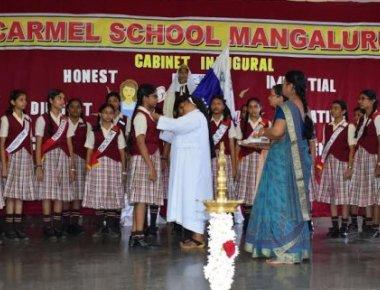 Carmel School inaugurates cabinet for 2017-18