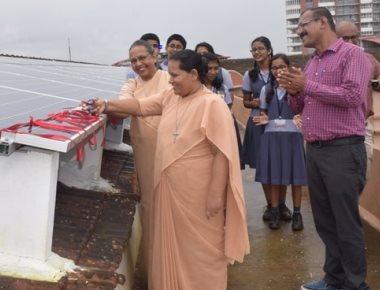 Mount Carmel school installs solar power plant, becomes 'green campus'