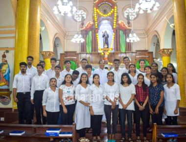 Youths of Cascia Unit celebrates National Youth Sunday