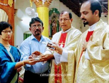 Monthi Fest celebration at St. Rita Church, Cascia