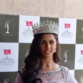 LIVA Miss Diva Universe 2020 Adline Castelino returns to a Glorious Homecoming in Mangalore