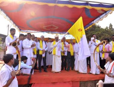 Catholic Sabha deanery holds spectacular procession of offerings ahead of silver jubilee