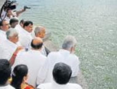 Central team visits Cauvery dams, will report to SC by Oct 17