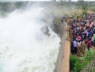 1.08L cusecs of water released from KRS, Kabini dams