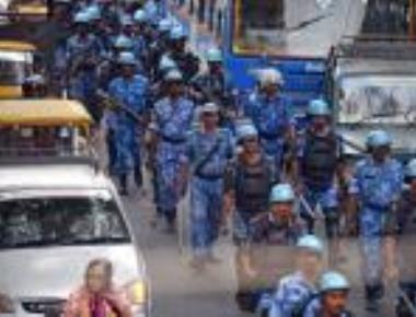 Fearing violence over Cauvery order, security heightened in city