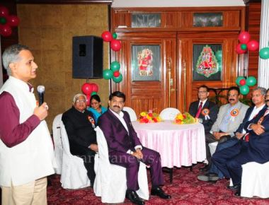 """Christmas celebration-2015"" and 16th Founder's day celebration by Christian Chamber of Commerce"