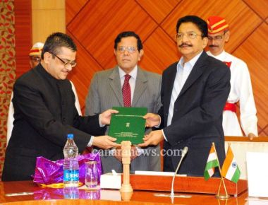 Chief Electoral Officer presents Gazette Notification on elected members to Governor