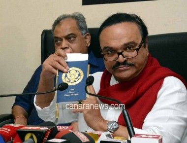 Mr. Chhagan Bhujbal, Ex Minister address the media at NCP Bhavan in Mumbai