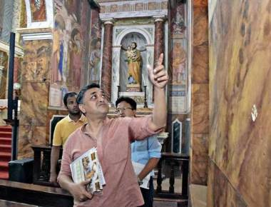 Paintings at St. Aloysius Chapel to be restored by April 2019
