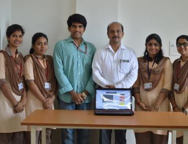 Students of SMVITM develop unique system for periodic