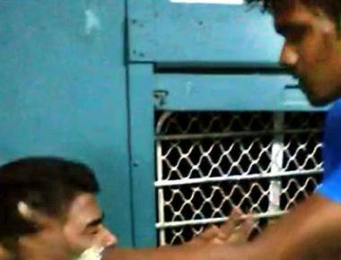 Duo in viral train assault video arrested