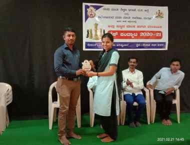 St Philomena P.U.College,  Puttur bags First prize in Chess competition