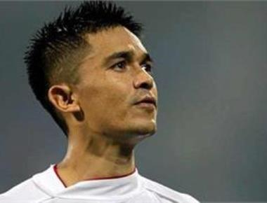 It's what happens when breakfast is not on time, Chhetri on viral video