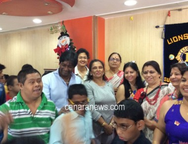 Let's Celebrate Chritsmas outing at McDonalds for Special Children of Sulabha Special School on 23rd December 2015