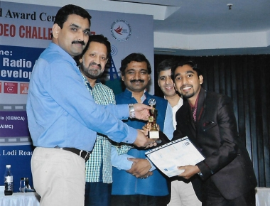 Clifford from SoC, Manipal wins 3rd place in national community radio challenge