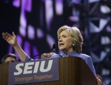Clinton creates history, becomes first woman US prez nominee