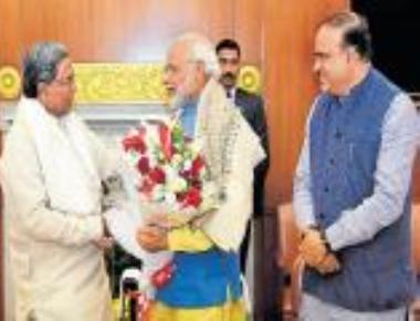 PM promises drought relief to Karnataka by 1st week of Jan