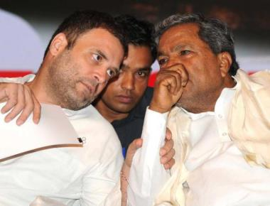 CM discusses Cabinet expanasion with Rahul in Delhi
