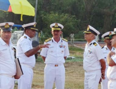 Coast Guard West Region IG reviews Coast Guard Operations in Mangaluru